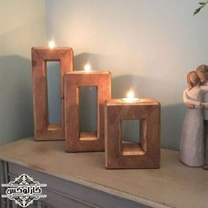 جاشمعی-جا شمعی-پایه شمع سه تایی-کارلوکس-candle holder-karlux.ir