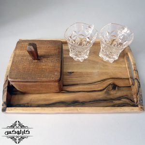 قندان چوبی-قندان لوکس-قندان خاص-کارلوکس-wooden box-karlux.ir-