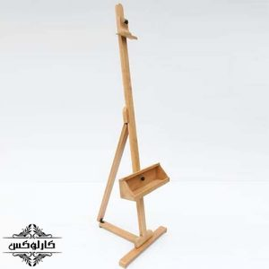 سه پایه رومیزی-سه پایه بوم رومیزی-سه پایه نقاشی-کارلوکس-wooden canvas holder-karlux