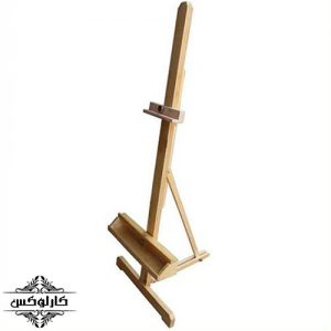 سه پایه رومیزی 2-سه پایه بوم رومیزی-سه پایه نقاشی-کارلوکس-wooden canvas holder-karlux